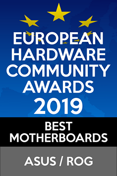 European Hardware Community Awards 2019 Best Motherboard
