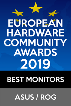 European Hardware Community Awards 2019 Best Monitor