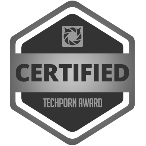 TechPorn Certified Award
