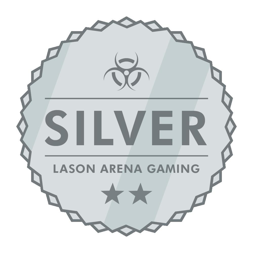 Lason Arena Gaming Silver Award