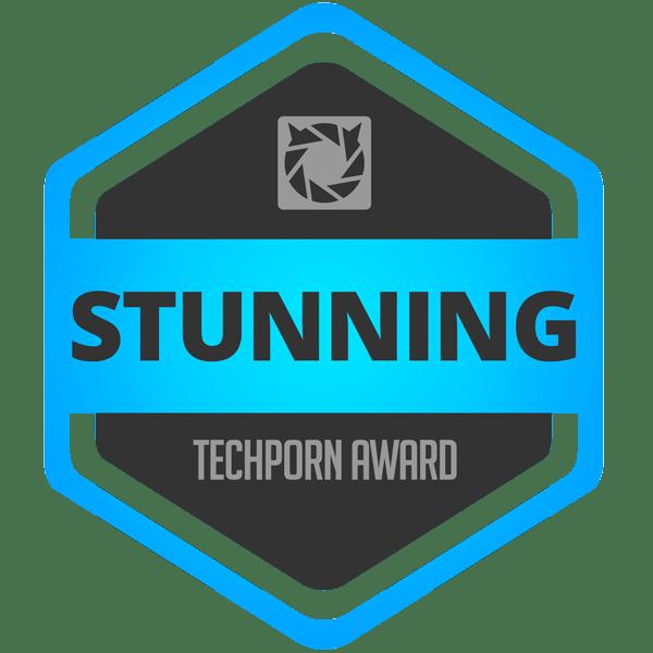 TechPorn Stunning Award