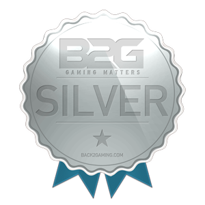 Back2Gaming Silver Award