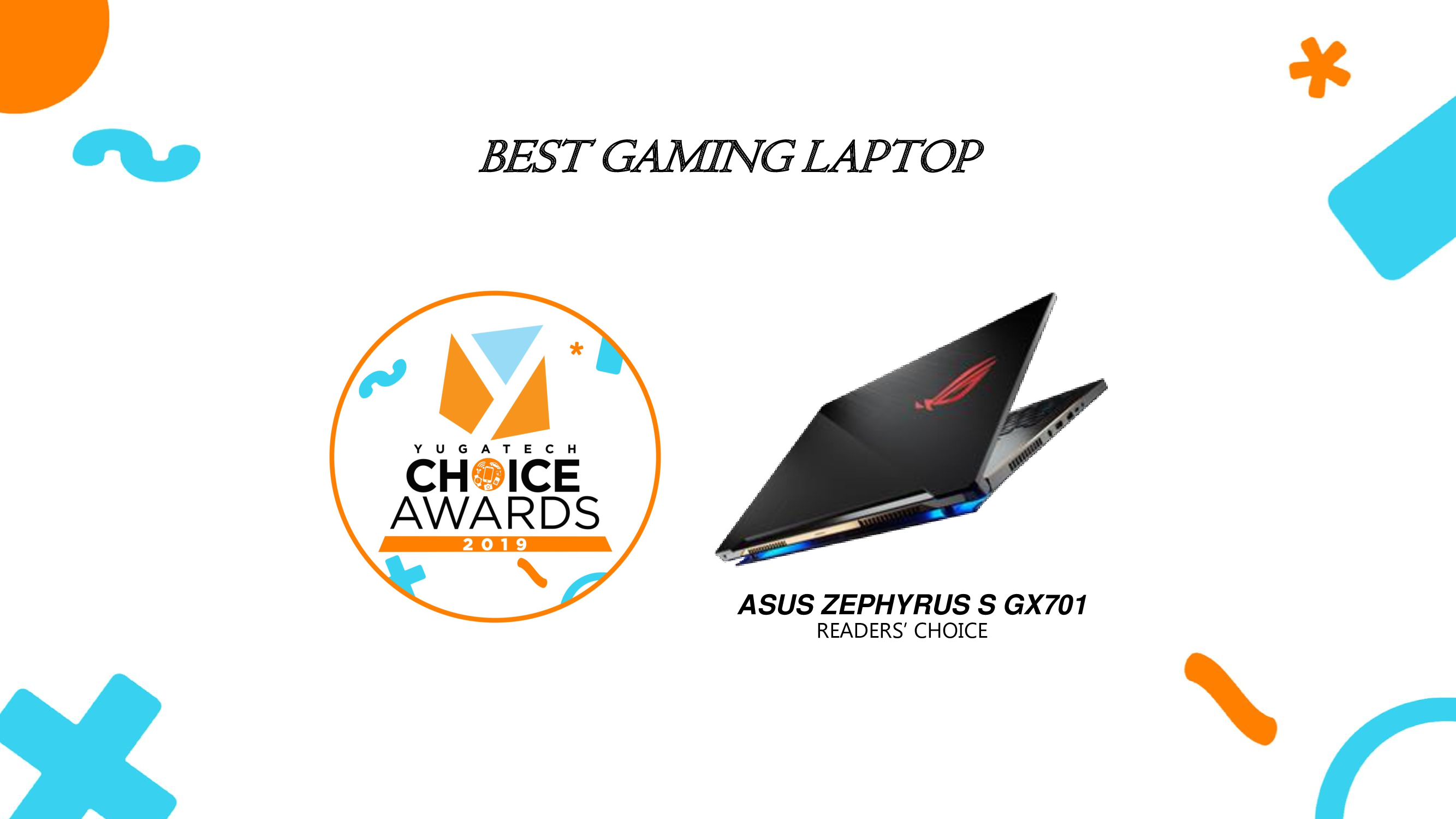 Yugatech Choice Awards Best Gaming Laptop 2019