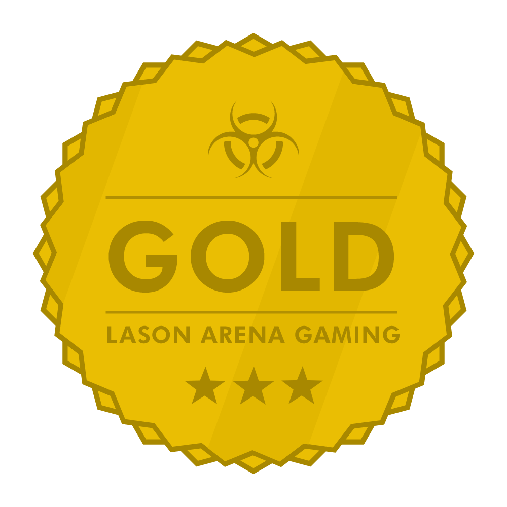 Lason Arena Gaming Gold Award