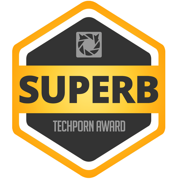 Techporn Superb Award
