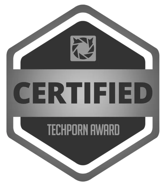 Techporn Certified Award