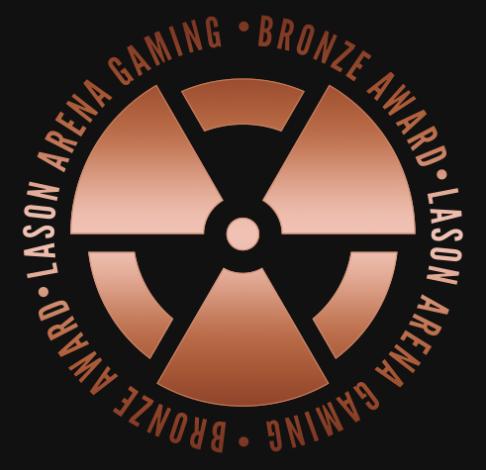 Lason Arena Gaming Bronze Award
