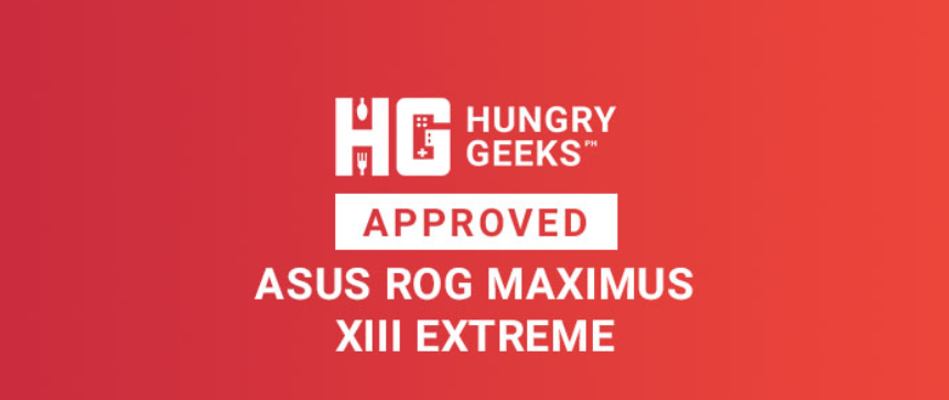 HungryGeeks ASUS ROG MAXIMUS XIII Extreme Approved Award