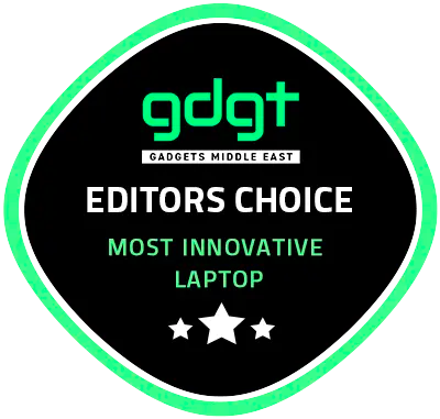 """Editors Choice: Most innovatine laptop"""