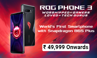 ROG Phone II - WORSHIPPED BY GAMERS. LOVED BY TECH GURUS.