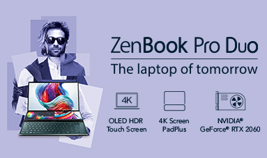 ZenBook Pro Duo - The laptop of tomorrow