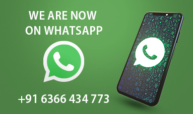 We are now on WhatsApp!