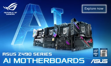AI Motherboard promotion