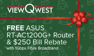 ViewQwest ASUS AC1200G+ Promo