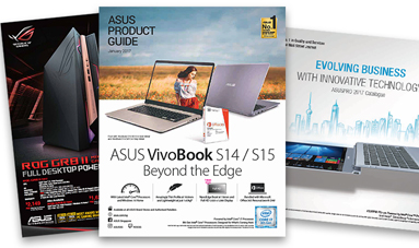 Download the ASUS Product Guide