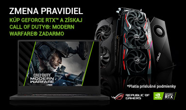 Kúp GeForce RTX™ a získaj Call of Duty®: Modern Warfare® zadarmo