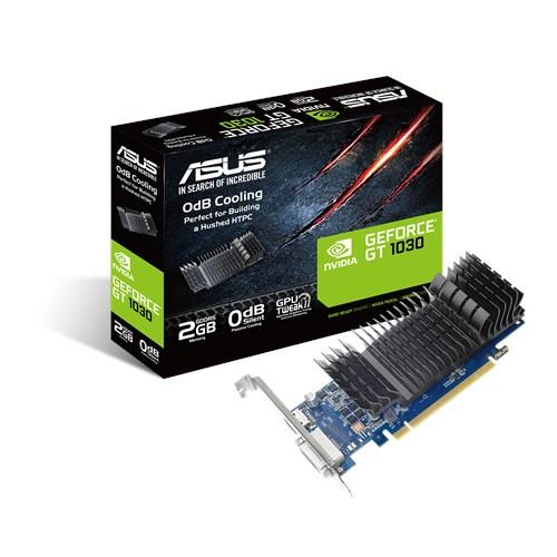 T. Video ASUS Nvidia GT1030 2GB GDDR5 LP GT1030-2G-CSM