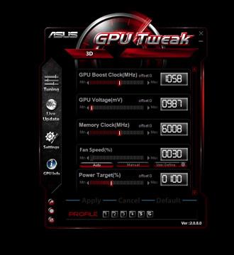 DirectCU II Series Graphics Card - ASUS