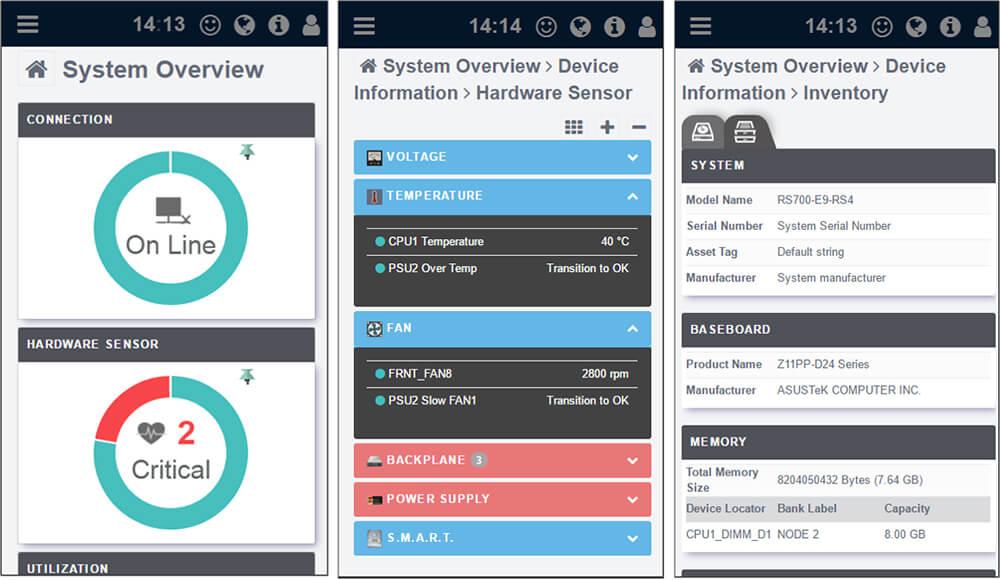 ASUS Control Mobile Control