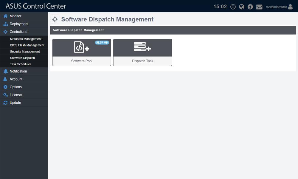ASUS Control Asset Management