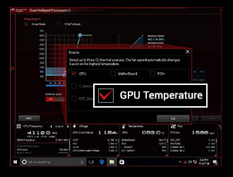 FAN XPERT 4 WITH GPU TEMPERATURE SENSING