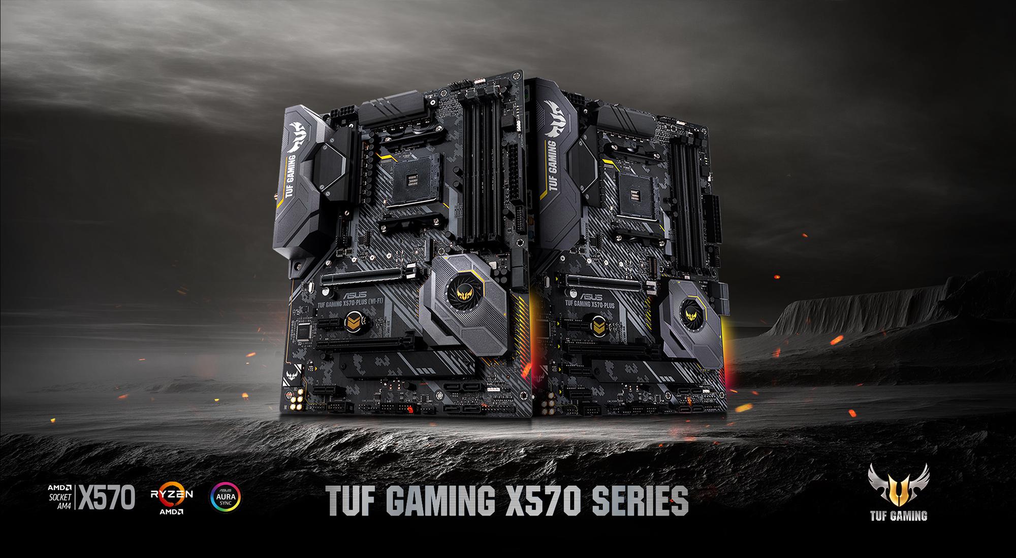 ASUS - TUF Gaming X570 Series Motherboards Landing Page