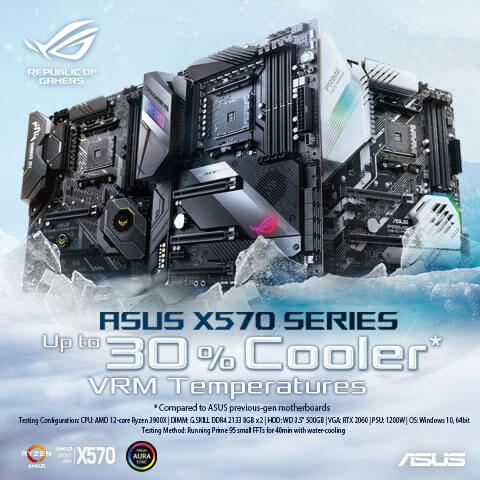 ASUS X570 Series - The best 2019 AMD Ryzen motherboards
