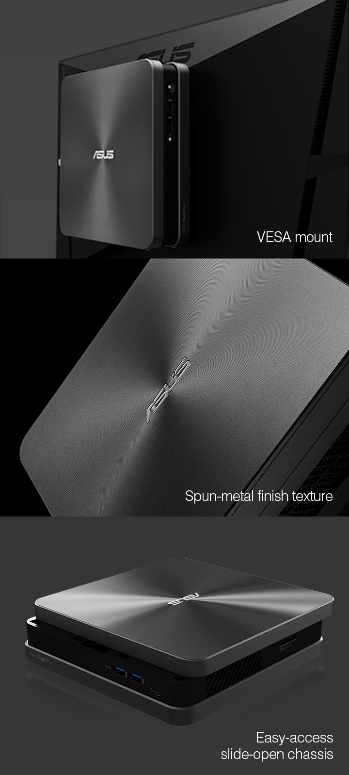 VivoMini VC65-C-Mini PC- vesa-mount
