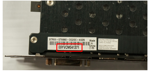 How to find serial number and PPID?