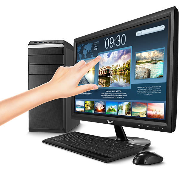 vt207n monitors asus usa. Black Bedroom Furniture Sets. Home Design Ideas
