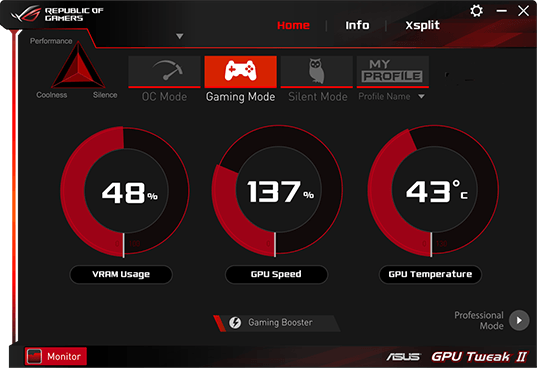 ASUS │ GPU Tweak II