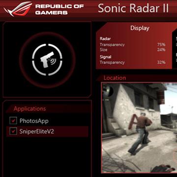Sonic Radar
